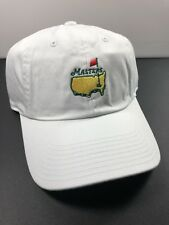 Masters White Golf Slouch Adjustable Hat Cap Augusta National NEW - Ships Fast