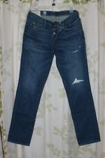 Abercrombie&Fitch Vintage Mens Destroyed Medium Wash Skinny Jeans RARE NEW 33x32