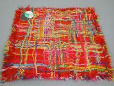 Taj Wood Scherer Kissenbezug Kissenhülle Fiamma III 30x30 cm rot/ orange