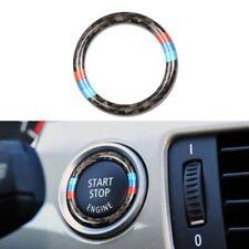 BMW 3 SERIES E92 E93 PUSH START IGNITION BUTTON CARBON FIBRE BEZEL UPGRADE