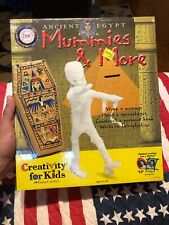 Ancient Egypt Mummies & More Arts and Crafts by Creativity For Kids,New & Sealed