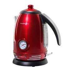 Nostalgia Retro 7-Cup Electric Kettle Hot Tea Boil Water Coffee Cocoa Modern Pot