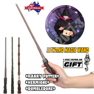 14INCH Harry Potter's Hermione Dumbledore Wizard LED Magic Wand Toy Xmas Gift AU