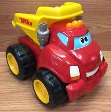 Chuck & Friends Moving Dump RUMBLIN Interactive Truck by Tonka Hasbro 2008 *READ