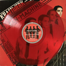 KRAFTWERK THE MAN MACHINE LP RED VINYL CAPITOL FRENCH PRESS 1978 EX+ PRO CLEANED