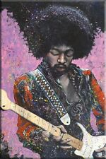 Jimi Hendrix Poster Art by Stephen Fishwick, 24x36
