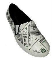 Shoe Republic Cashman Womens Slip-On Platform Fashion Sneakers Money Shoes