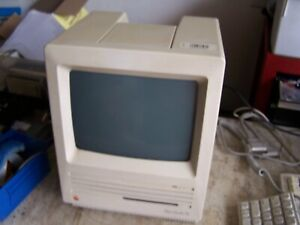 Macintosh SE M5011 Case, PS and CRT  - Estate Sale SOLD AS