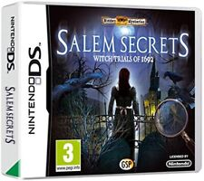 Salem Secrets Witch Trials 1692, A Haunting Tale with a Wicked Twist Nintendo DS