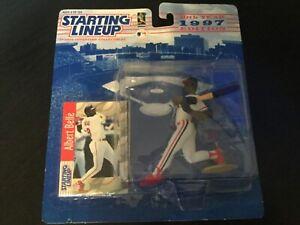 Starting Lineup Albert Belle 1997 Kenner MLB Cleveland Indians Hasbro SLU