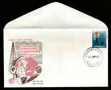 1965 CENTENARY TELECOMS UNION PRE-DECIMAL STAMP WESLEY FIRST DAY COVER #65.11
