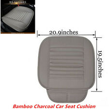1pcs Gray Bamboo Charcoal Car Seat Cushion Cover Full Surround Protect Seat Pad