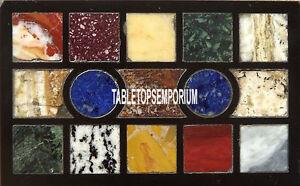 18''x12'' Black Marble Coffee Middle Table Top Mosaic Inlay Arts Hallway Decor