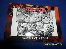 "2012 BREYGENT DEAD WORLD ZOMBIE CARD "" SACRIFICE OF A FRIEND  "" #28"