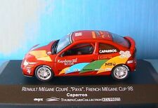 RENAULT MEGANE COUPE #26 PAYA FRENCH CUP 98 driver CAPARROS ONYX XCL99021 1/43