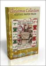 Card-making DVD - Festive Christmas Paper Pads. Brilliant value!