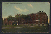 1910 ST MARY'S HOSPITAL ROCHESTER MINN POSTCARD