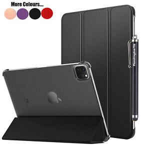 Leather Slim Smart Stand Case For Apple iPad Pro 12.9 2020, 2021 Book Cover UK
