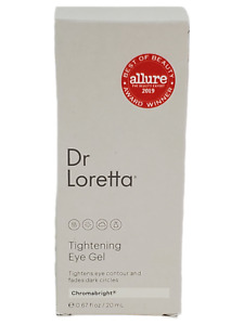 Dr Loretta Tightening Eye Gel 0.67 oz Allure Award Winner Chromabright