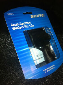 Shure WA371 (Mic Clip for Shure Handheld Wireless Transmitter TX) Brand New