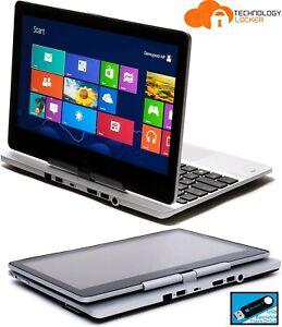 """HP EliteBook Revolve 810 G1 11.6"""" Touch Intel i5-3437U 4GB RAM 128GB SSD Win 10"""