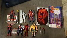 Marvel leyendas lot-Spider-Man, Daredevil, Silver Surfer y Iron Man Acción..