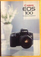catalogue Canon EOS 100 - 1991