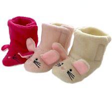 MAUS Hausschuhe warme Schuhe f. Mädchen Baby Kinder Boots Puschen Pantoffeln ob5