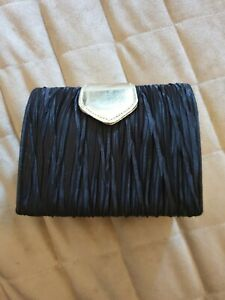 Vintage Evening Bag ~ Immaculate ~ Black Gold Detail ~ Strap ~ Small