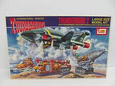 MES-45158 Imai 1512 Thunderbird 2 Bausatz geöffnet,augenscheinlich komplett,
