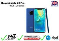 Huawei Mate 20 Pro LYA-L09 128GB 40MP Mobile Smartphone Unlocked UK Seller