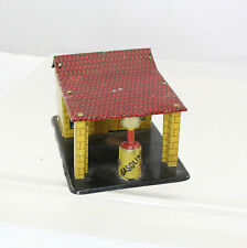 Distler - Penny Toy Gas Station - German Tin