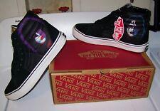 Vintage KISS SOLO ALBUMS FACES LP Vans Hi-Top SK8 Skate Shoes Sz Men 8.5 Lady 10