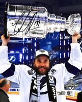 Victor Hedman Signed 8x10 Tampa Bay Lightning Stanley Cup Hockey Photo Fanatics