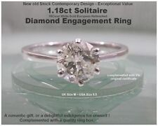 Engagement Very Good Cut Natural I2 Fine Diamond Rings