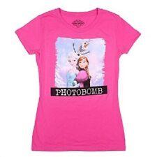 Disney Frozen Photo Bomb T-Shirt Juniors Size Medium