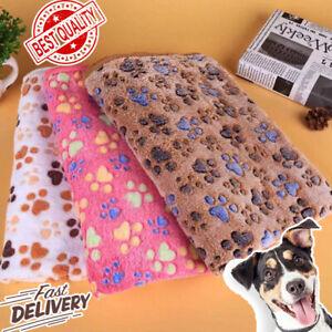 Amazing Paw Print blanket Cat and Dog Mattress Winter blanket Warm household pet