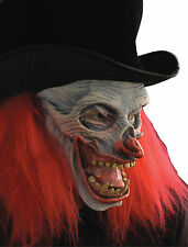 HALLOWEEN ADULT NOW THATS FUNNY  CLOWN HORROR MASK PROP