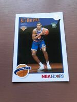 2019-20 NBA HOOPS BASKETBALL RJ BARRETT TRIBUTE ROOKIE INSERT CARD RC # 298