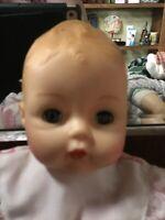 """Madame Alexander HUGGUMS Baby Doll PINK GINGHAM BUTTERFLIES 12"""" VGUC 2000"""