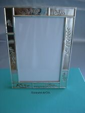 """TIFFANY 'BAMBOO GARDEN' STERLING SILVER ~ PICTURE FRAME 5 X 7"""" ~ BEAUTY!"""