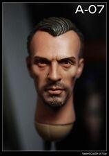 1/6 Custom Robert Knepper T-Bag Head Prison Break Sculpt For Hot Toys Body
