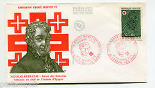 FRANCE 1972, FDC premier jour CROIX ROUGE, N. DUFRICHE, VF FDC CELEBRITY