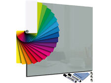 Toughened Glass Memo Note Planer Board Magnetic with Magnets Any Colour & Size