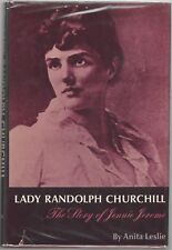 """Lady Randolph Churchill"", by Anita Leslie, Signed 1st Edition, COA, UACC RD 036"