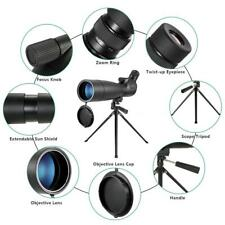 Visionking Angled Spotting Scope 20-60x80 Sport Zoom Bak4 Telescope +Tripod Z2F4