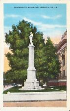 1920's Confederate Monument in Valdosta, GA Georgia PC