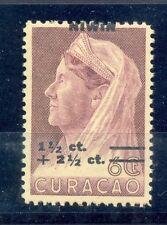 CURACAO # 182 VARIETEIT = SHIFTED OVERPRINT =  **  MNH  VF  @12