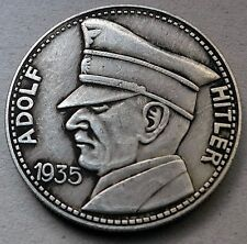5 REICHSMARK 1935 GERMAN THIRD REICH COIN ADOLF HITLER  WW2