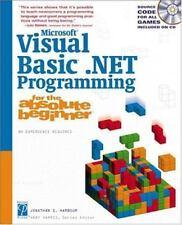 Microsoft Visual Basic .NET Programming for the Absolute Beginner, Harbour, Jona